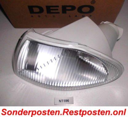 Blinker Depo Links 5507191 3734907 Weiß Opel