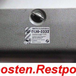 BMW E36 318i Abdeckung Kofferraum 71111180772