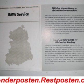 BMW E36 318i Serviceheft Ost Deutschland