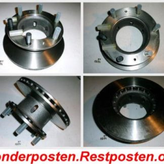 Bremsscheibe IVECO 026.652-00 02665210 NT1894
