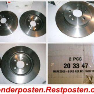 Bremsscheiben NK 203347 MERCEDES NT1881