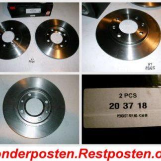 Bremsscheiben NK 203718 PEUGEOT NT1865