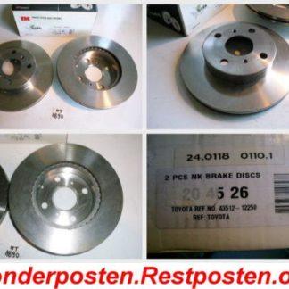 Bremsscheiben NK 204526 TOYOTA NT1890