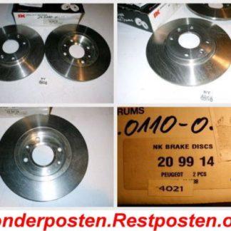 Bremsscheiben NK 209914 PEUGEOT NT1858