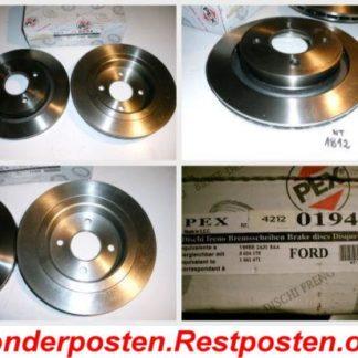 Bremsscheiben PEX 14.0194 140194 FORD NT1812