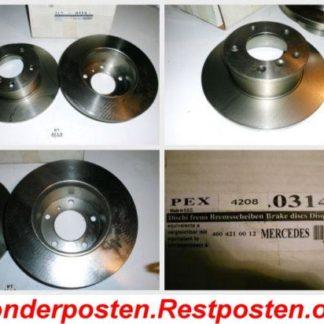 Bremsscheiben PEX 14.0314 140314 Mercedes NT1829
