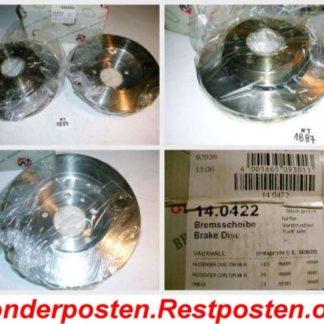 Bremsscheiben PEX 14.0422 OPEL NT1897