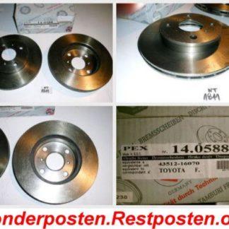 Bremsscheiben PEX 14.0588 140588 TOYOTA NT1811