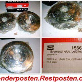 Bremsscheiben MAPCO 156672 BMW NT1687