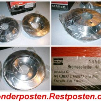 Bremsscheiben MAPCO 45510 NISSAN NT1689