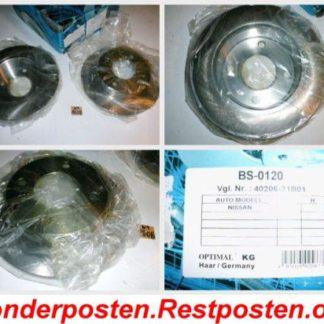 Bremsscheiben Optimal BS0120 Nissan NT1608