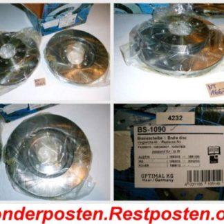 Bremsscheiben Optimal BS1090 AUSTIN NT1667
