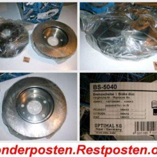 Bremsscheiben Optimal BS5040 PEUGEOT NT1660