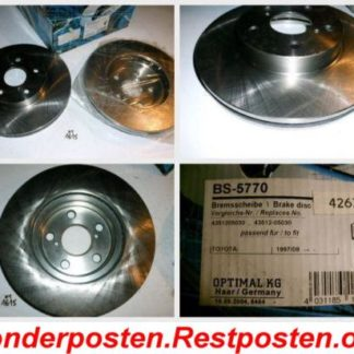 Bremsscheiben Optimal BS5770 TOYOTA NT1615