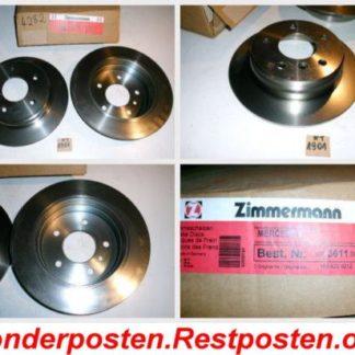 Bremsscheiben Zimmermann 400361100 NT1901