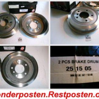 Bremstrommeln NK 251505 BMW NT1888