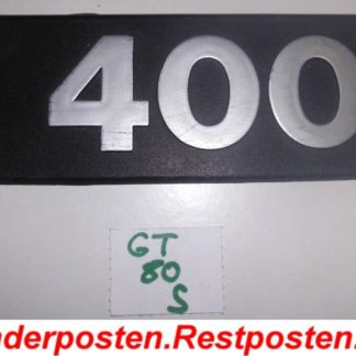 DAF 400 DAF400 Ersatzteile Emblem 400 GS080