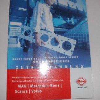 Elring Dichtung Ersatzteilkatalog Katalog LKW NKW MAN Mercedes Scania Volvo GS1325