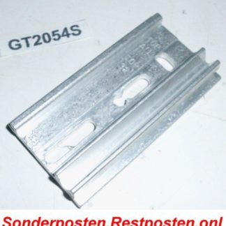 Halter Halterung Montageplatte Heizkostenverteiler 73 x 38,5 x 11   GS2054