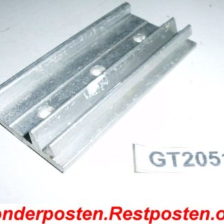 Halter Halterung Montageplatte Heizkostenverteiler 73,0 x 38,5 x 10,5   GS2051