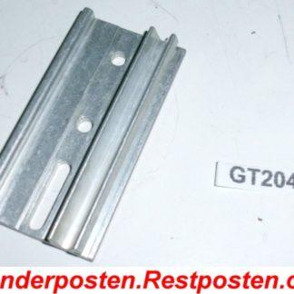 Halter Halterung Montageplatte Heizkostenverteiler 73,0 x 38,5 x 11,0 | GS2049