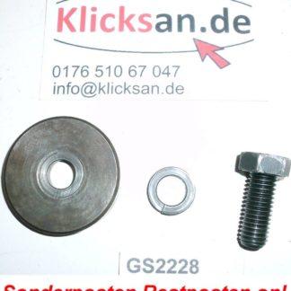 Hatz E 85 E85 FL Teile Schraube Kurbelwelle GS2229