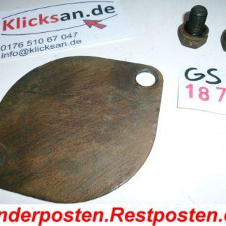 Hatz Motor E85 Teile Deckel Anlasserloch GS1877