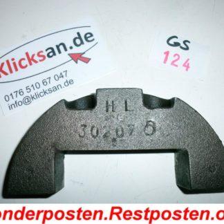 Hatz Motor E85 Teile Kurbelwelle Gegengewicht GS124