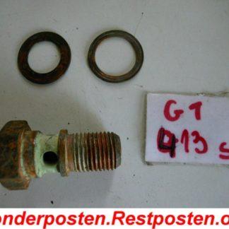 IHC Radlader H30 Schraube Radbremszylinder GS413
