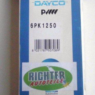 Keilrippenriemen Dayco 6PK1250 | NT373