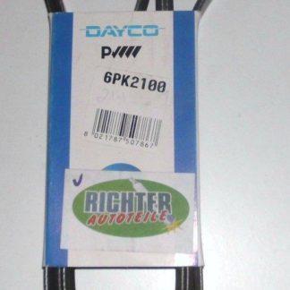 Keilrippenriemen Dayco 6PK2100 | NT352