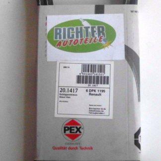 Keilrippenriemen PEX 6DPK1195 201417 | NT371