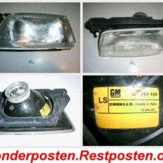 Opel Kadett E Scheinwerfer links Carello 90369489 | GM198