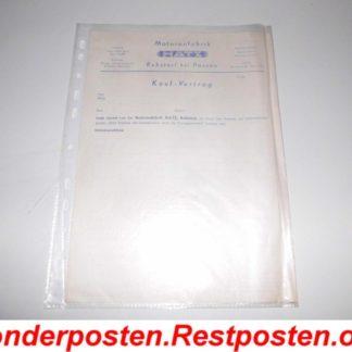 Original Hatz Kauf Vertrag Kaufvertrag mit Durchschlag unbenutzt GS1399
