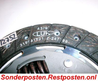 Original LUK Kupplungsscheibe Scheibe Kupplung 319003116 / 319 0031 16 NT2752