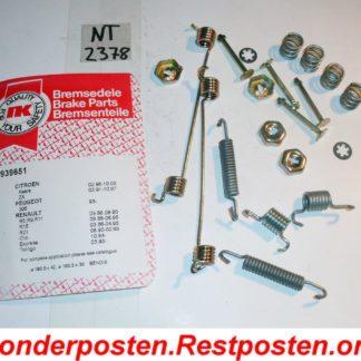 Original NK Zubehörsatz Bremsbacken Zubehör 7939651 NT2378