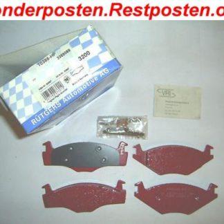 Sport Bremsklötze Bremsbeläge T0388-HP VW 3365089 PAGID WVA 20887 NT1241