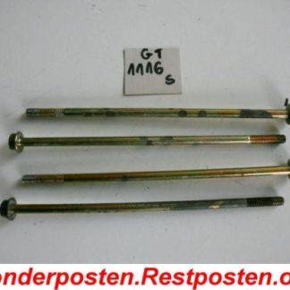 Stromerzeuger Berlan BSTE5000LD Schrauben 4 Stück GS1116