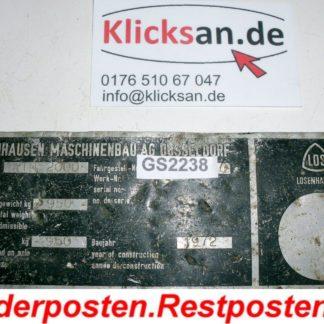 Vibromax ATN 2000 ATS 6002 Teile Typenschild GS2238