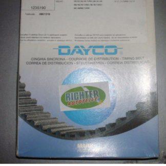 Zahnriemen Dayco 94057 Fiat Volvo | NT104