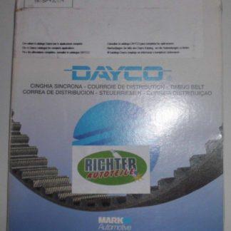 Zahnriemen Dayco 94740 Citroen Peugeot | NT176