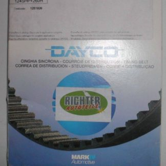 Zahnriemen Dayco 94763 Toyota | NT189