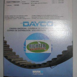 Zahnriemen Dayco 94777 Audi Seat | NT206
