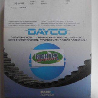 Zahnriemen Dayco Citroen Peugeot 94254 | NT213