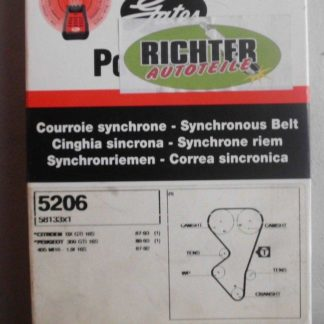 Zahnriemen Gates 5203 Citroen Peugeot | NT133